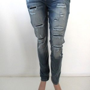 4366dfc45d0 Maurices Jeans - MAURICES Jeans RIPPED Skinny PLUS SIZE 18 Reg NWT